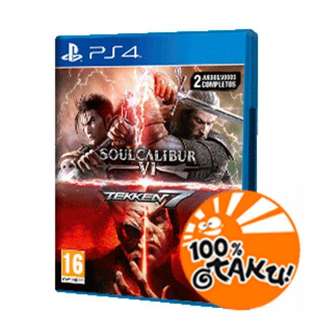 Oferta de Pack Tekken 7 + Soulcalibur VI por 19,95€