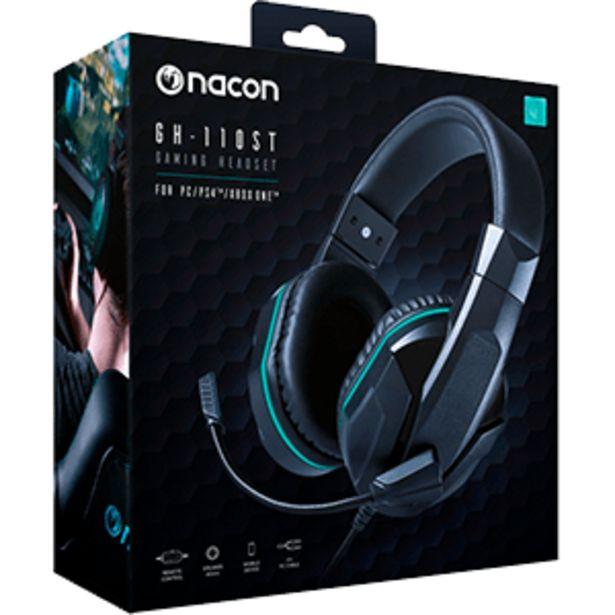 Oferta de Nacon GH-110 PC/PS4/XONE - Auriculares Gaming por 19,95€