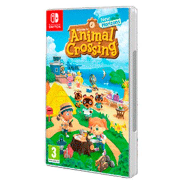 Oferta de Animal Crossing: New Horizons por 49,95€