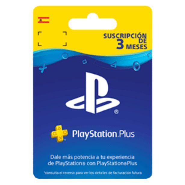 Oferta de PlayStation Plus - Suscripción de 3 Meses por 24,99€