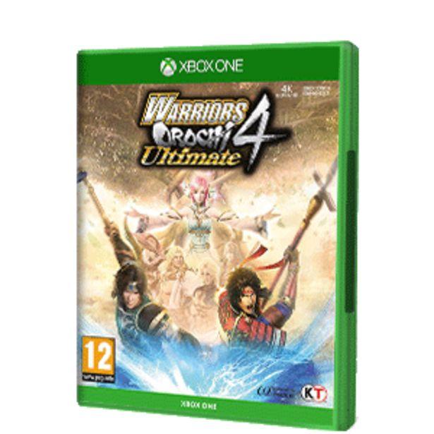 Oferta de Warriors Orochi 4 Ultimate por 19,95€