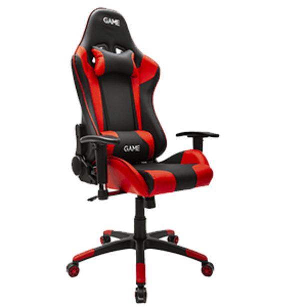 Oferta de GAME Racing PRO GT300 Rojo-Negro Silla Gaming por 139,95€