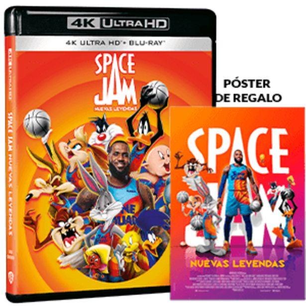 Oferta de Space Jam Nuevas Leyendas 4K + BD por 22,95€