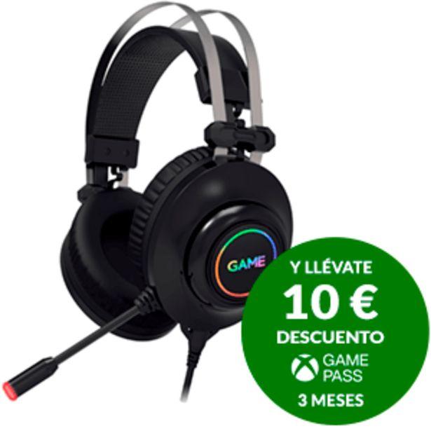 Oferta de GAME HX500 RGB 7.1 PRO Gaming Headset PC-PS4 - Auriculares - Auriculares Gaming por 39,95€
