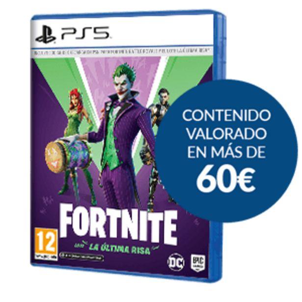 Oferta de Fortnite: Lote La Última Risa por 19,95€