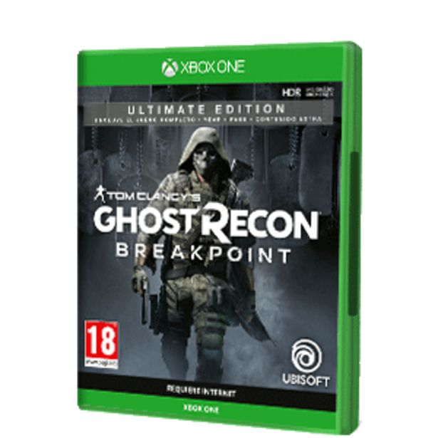 Oferta de Ghost Recon Breakpoint Ultimate Edition por 29,95€