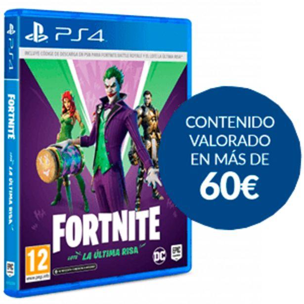 Oferta de Fortnite: Lote La Última Risa por 29,95€