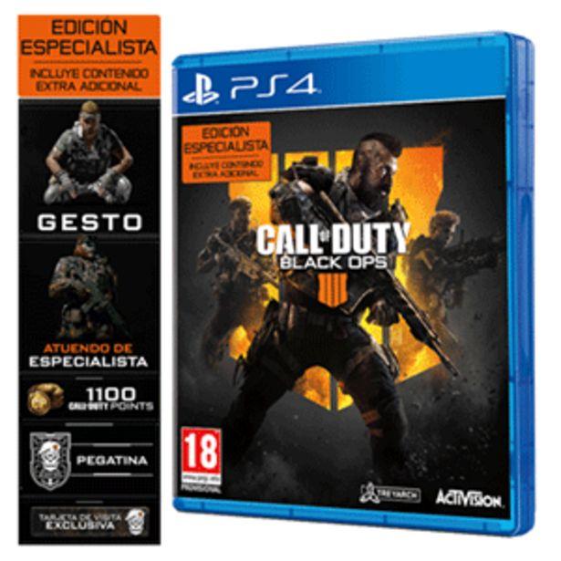 Oferta de Call of Duty Black Ops 4 Edición Especialista por 9,95€