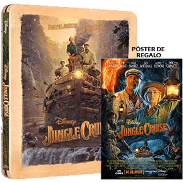 Oferta de Jungle Cruise Edición Steelbook por 25,95€