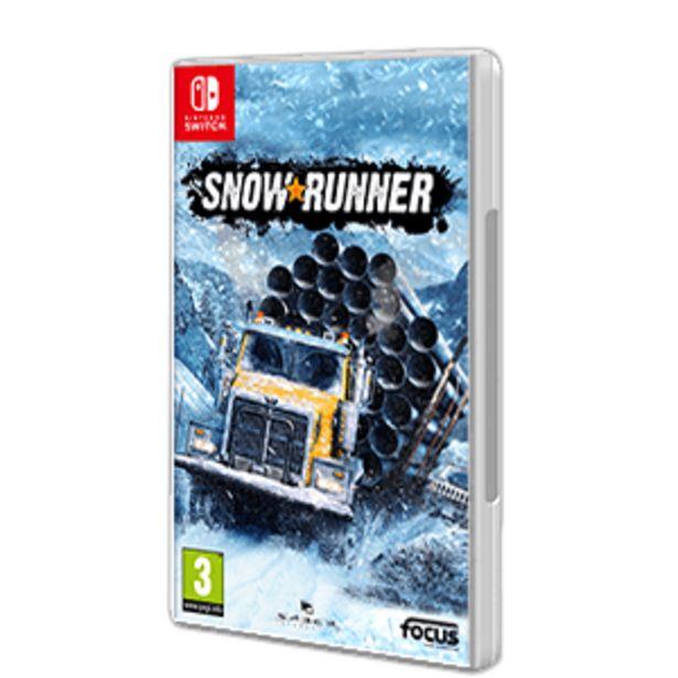 Oferta de SnowRunner por 24,95€