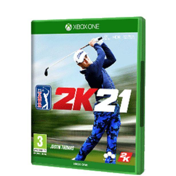 Oferta de PGA Tour 2K21 por 19,95€