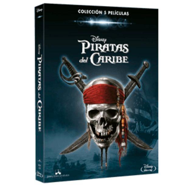 Oferta de Pack Piratas del Caribe 1-5 por 39,95€