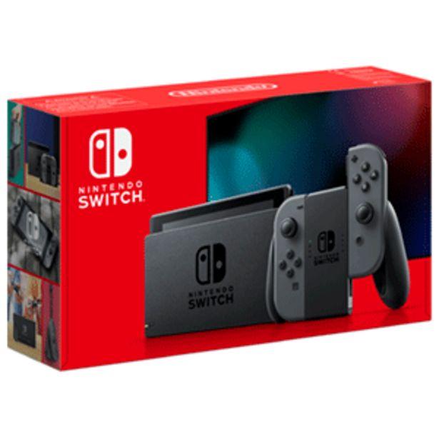 Oferta de Nintendo Switch Gris por 299,95€