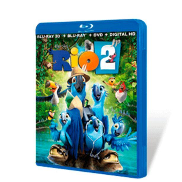 Oferta de Rio 2 Bluray + DVD por 2€