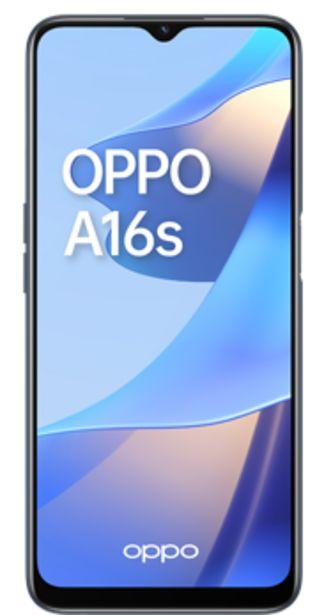 Oferta de OPPO A16S negro por 24€