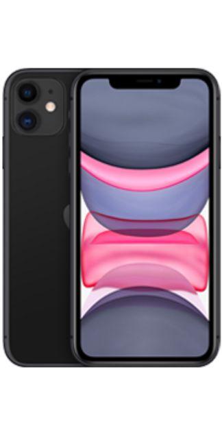 Oferta de Apple iPhone 11 128 GB negro por 570€