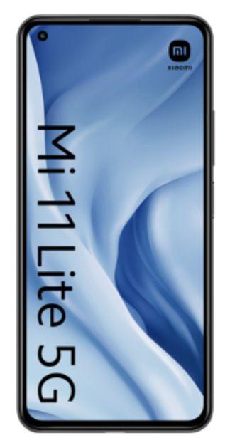 Oferta de Xiaomi Mi 11 Lite 5G 128GB negro por 270€