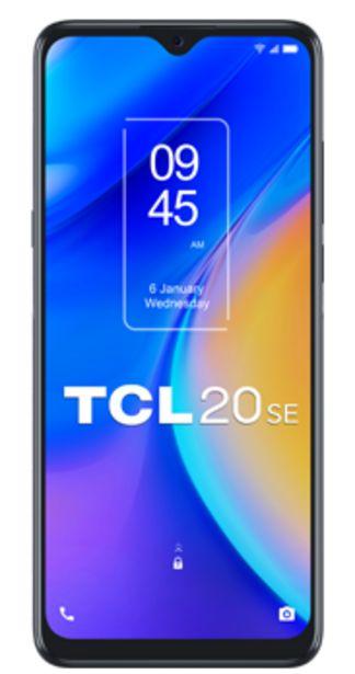 Oferta de TCL 20 SE 64GB negro por 24€