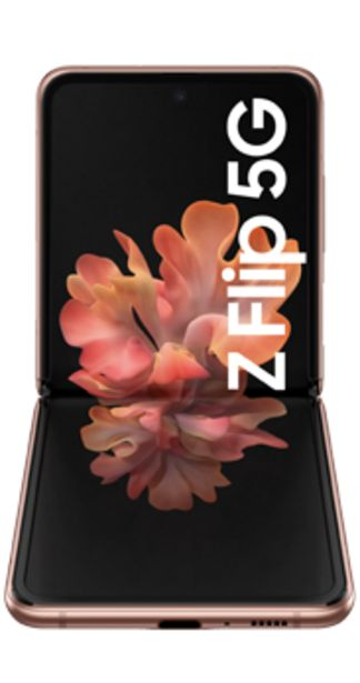 Oferta de Samsung Galaxy Z Flip 5G mystic bronze por 855€