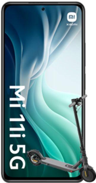 Oferta de Xiaomi Mi 11i 5G 256GB negro + Mi Electric Scooter 1S negro por 450€