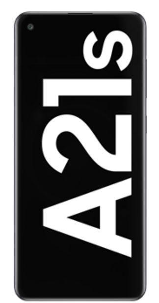 Oferta de Samsung Galaxy A21s 128GB negro por 48€