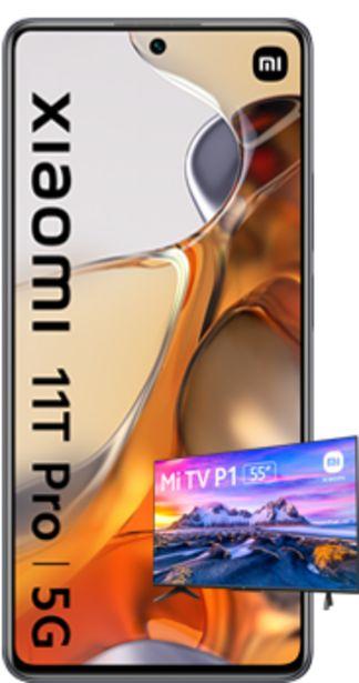 Oferta de Xiaomi 11T Pro 5G 256GB negro + Smart TV Android Mi TV P1 55 por 840€