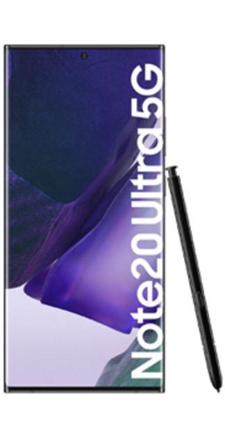 Oferta de Samsung Galaxy Note20 Ultra 5G 256 GB mystic black por 1050€