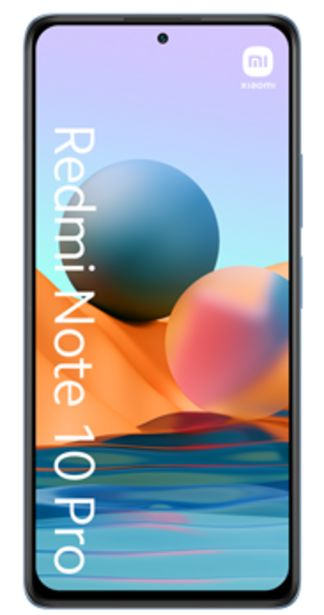 Oferta de Xiaomi Redmi Note 10 Pro 128GB azul por 144€