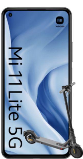 Oferta de Xiaomi Mi 11 Lite 5G 128GB negro + Mi Electric Scooter 1S negro por 345€
