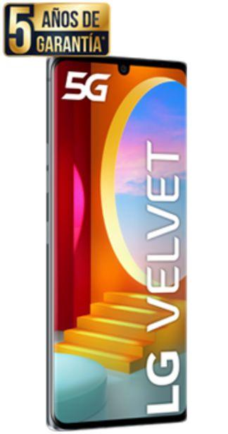 Oferta de LG Velvet 5G gris aurora por 360€