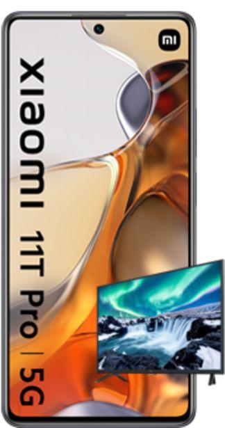 Oferta de Xiaomi 11T Pro 5G 256GB negro + Smart TV Mi TV 4A 32 por 480€