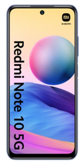 Oferta de Xiaomi Redmi Note 10 5G 128GB azul por 90€