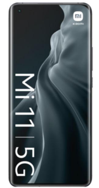 Oferta de Xiaomi Mi 11 5G 256GB negro por 615€