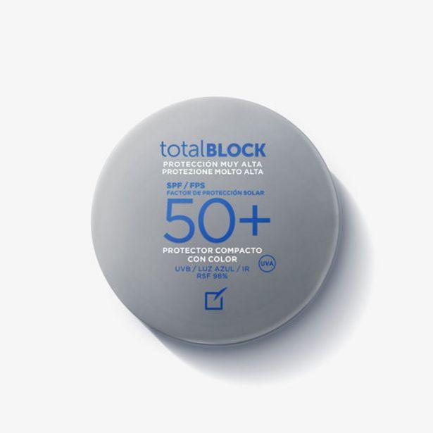 Oferta de Protector solar compacto Total Block SPF50+ Nude por 26€