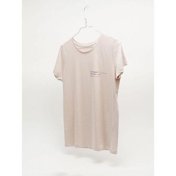 Oferta de Identity camiseta mujer corte entallado por 14,99€