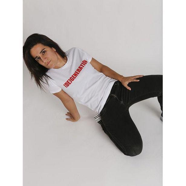 Oferta de Dege camiseta mujer corte entallado por 14,99€