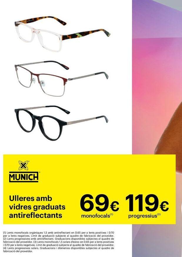 Oferta de Gafas graduadas por 69€