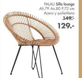 Oferta de Sillas lounge PALAU  por 129€