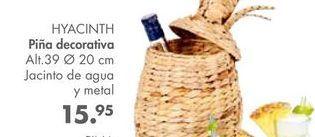 Oferta de Piña decorativa HYACINTH  por 15,95€