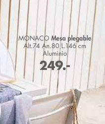 Oferta de Mesa plegable MONACO  por 249€