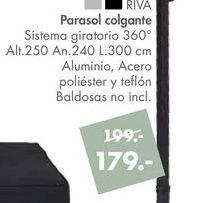 Oferta de Parasol colgante RIVA por 179€