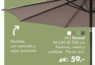 Oferta de Parasol ALU por 59€