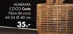 Oferta de Cesta ALAMBA  por 35€