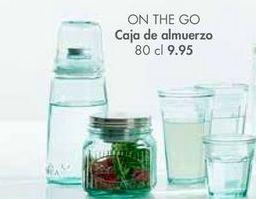 Oferta de Cajas de almuerzo ON THE GO por 9,95€