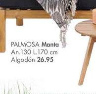 Oferta de Manta PALMOSA  por 26,95€