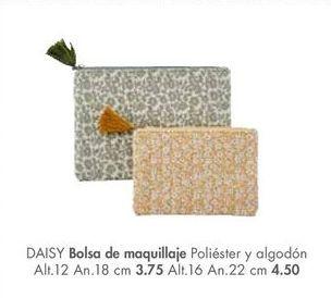 Oferta de Bolsas de maquillaje DAISY  por 4,5€