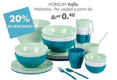 Oferta de Vajilla HORIZON  por 0,4€