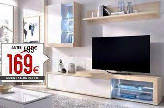 Oferta de Muebles de salón por 169€