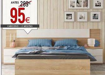 Oferta de Cabecero dormitorio de matrimonio por 95€