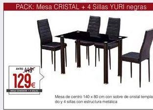 Oferta de Mesa de centro por 129€